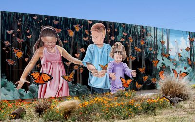 Magnificent Murals Around Town